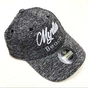 GLOBALSUN Myrtle Beach Heathered Grey Fitted Hat